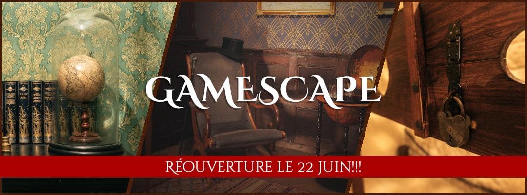bannière escape room gamescape